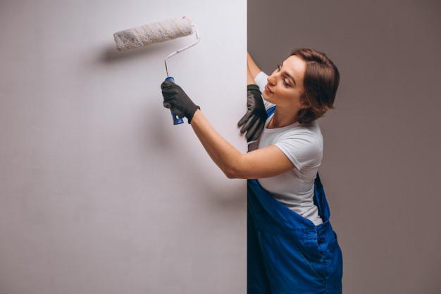 Покраска стен от 280 руб. (кв.м)